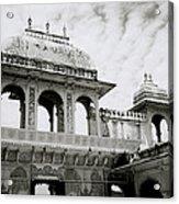 The City Palace Udaipur Acrylic Print
