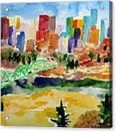 The City Skyline Acrylic Print
