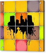 The City Splash Acrylic Print