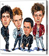 The Clash Acrylic Print