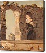 The Claudian Aquaduct Rome Acrylic Print