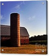 The Clayton Barn Acrylic Print