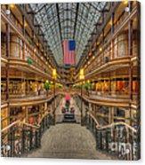 The Cleveland Arcade V Acrylic Print