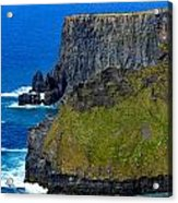 The Cliffs Of Moher In Ireland Acrylic Print