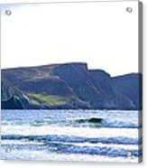 The Cliffs Of Western Eire Acrylic Print