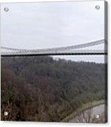 The Clifton Suspension Bridge Acrylic Print