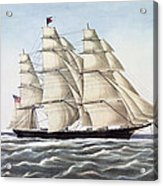 The Clipper Ship Flying Cloud Acrylic Print