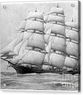 The Clippership Taeping Under Full Sail Acrylic Print