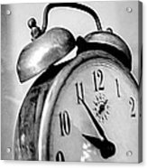 The Clock Acrylic Print