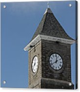 The Clock Tower Acrylic Print by Rhonda Humphreys