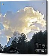 The Cloud Above Acrylic Print