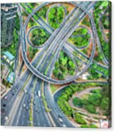 The Clover Interchange (semanggi) Acrylic Print