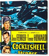 The Cockleshell Heroes, Us Poster, Left Acrylic Print