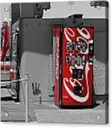 The Coke Machine Acrylic Print