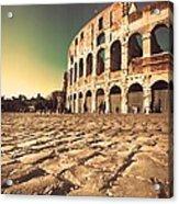 The Coliseum In Rome Acrylic Print