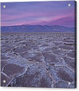 The Color Of Badwater Acrylic Print by Tony Santo