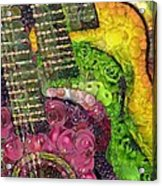 The Color Of Music In The Way Of Arcimboldo Acrylic Print