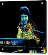 The Colorful Sound Of Bad Company 1977 Acrylic Print
