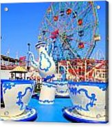 The Colors Of Coney Acrylic Print