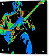 The Colors Of Mick's Music Are Vivid Acrylic Print
