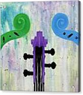 The Colors Of Music Acrylic Print