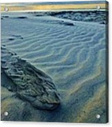 The Colors Of Sand Acrylic Print