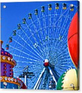 The Colors Of The State Fair Of Texas Acrylic Print