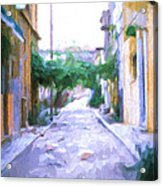 The Colors Of The Streets Acrylic Print