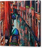 The Colors Of Venice Acrylic Print