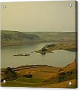 The Columbia River From Maryhill Acrylic Print