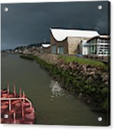 The Columbia River Maritime Museum Sits Acrylic Print