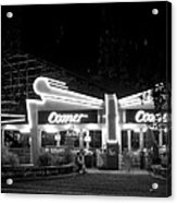 The Comet Roller Coaster - St Louis 1950 Acrylic Print