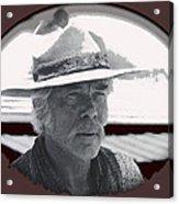 The Commancheros Homage 1961 Lee Marvin Monte Walsh Old Tucson Arizona Acrylic Print