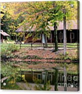 The Commissioners Cabin In Autumn Acrylic Print