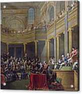 The Committee Of Lyon, 26th January 1802, 1808 Oil On Canvas Acrylic Print