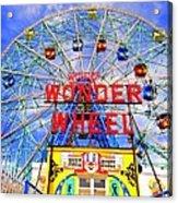 The Coney Island Wonder Wheel Acrylic Print