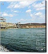 The Conowingo Dam Acrylic Print