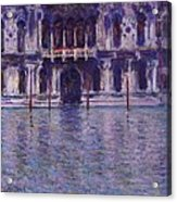 The Contarini Palace Acrylic Print