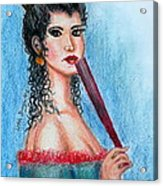 The Contessa Acrylic Print