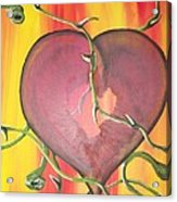 The Core Of My Heart Acrylic Print