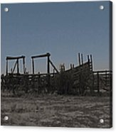The Corral Acrylic Print