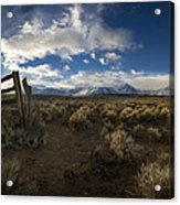 The Corral Acrylic Print by Sean Foster