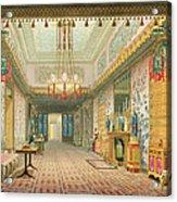 The Corridor Or Long Gallery Acrylic Print