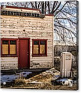 The Country Corner Acrylic Print