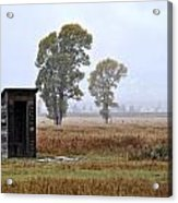 The Country Outhouse Acrylic Print