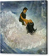The Couple's First Dance Acrylic Print