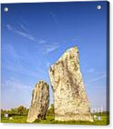 The Cove Avebury Wiltshire Acrylic Print by Colin and Linda McKie