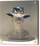 The Cowboy Acrylic Print