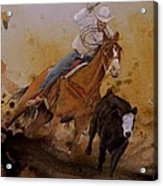 The Cowboy Way Acrylic Print by Stefon Marc Brown