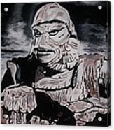 The Creature From The Black Lagoon Acrylic Print